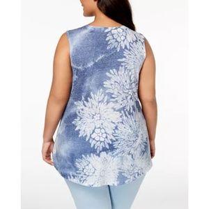 Style & Co. Womens Plus Sz 2X Tank Top Shirt Top